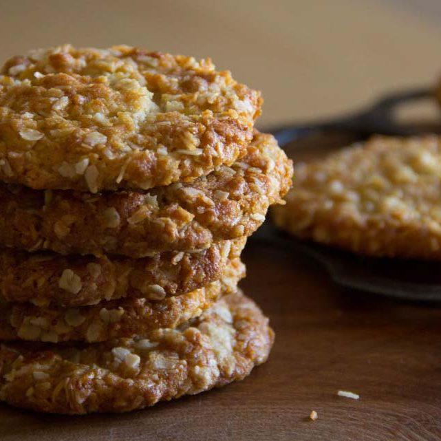 Honey Anzac Cookies Manawa Honey Nz