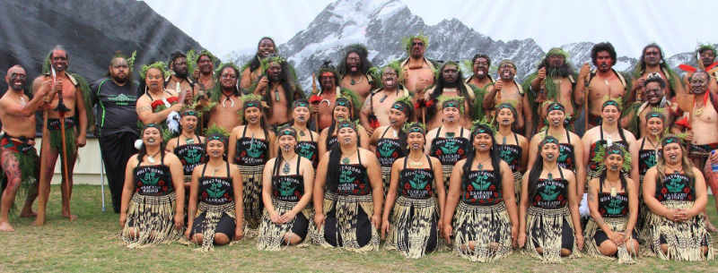 Haka Group Of Ruatahuna Supported By Manawa Honey NZ