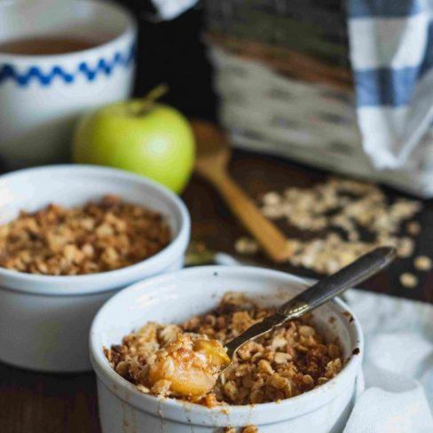 Honey Apple Crumble Recipe Manawa Honey Nz