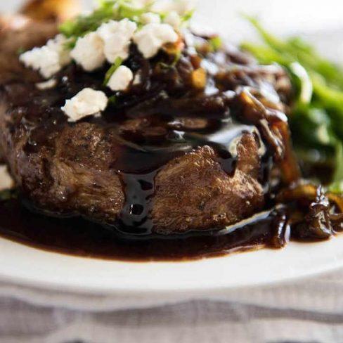 Honey Glazed Steak Manawa Honey Nz