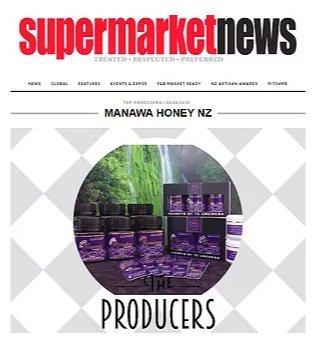 Manawa Honey Nz Supermarket News