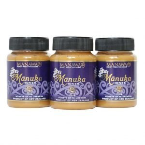 Manuka Honey 3x110g Manawa Honey Nz