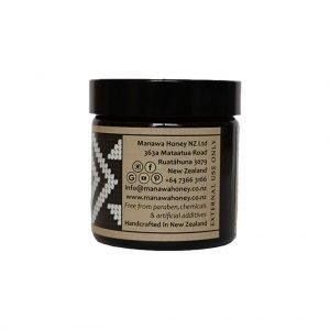 Mānuka Honey Healing Balm 60g Jar By PUHI Skincare of Manawa Honey NZ, Ruatahuna, Te Urewera, New Zealand: Right View