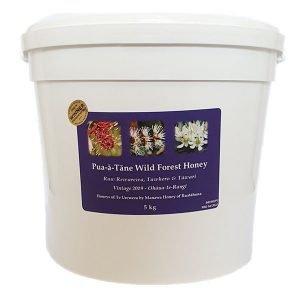 Raw Pua-a-Tane Honey by Manawa Honey NZ in 5kg pail