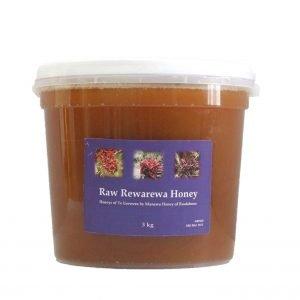 Raw Rewarewa Honey In 3kg Pail By Manawa Honey NZ
