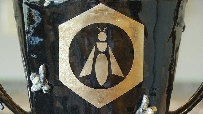 Logo of the Black Jar Honey Tasting Contest Won by Manawa Honey's Rewarewa Honey in 2021
