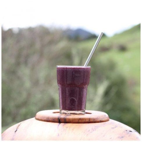 Rewarewa Honey and Blueberry Smoothie - an Antioxidant Tonic Recipe by Manawa Honey NZ, Ruatahuna, New Zealand