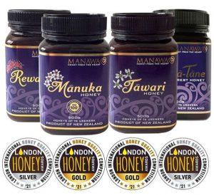 Honeys of Te Urewera Won London Honey Awards 2021 - by Manawa Honey NZ, Ruatahuna